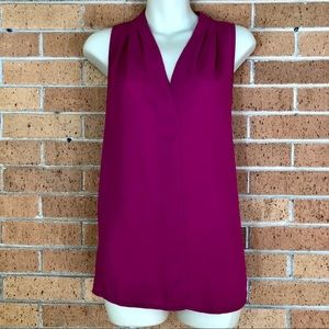 Vince Camuto sleeveless Blouse size Small